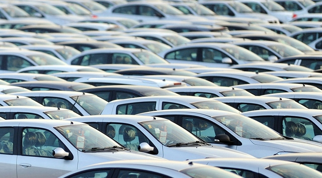 European automotive market shrinks 6.7 pct