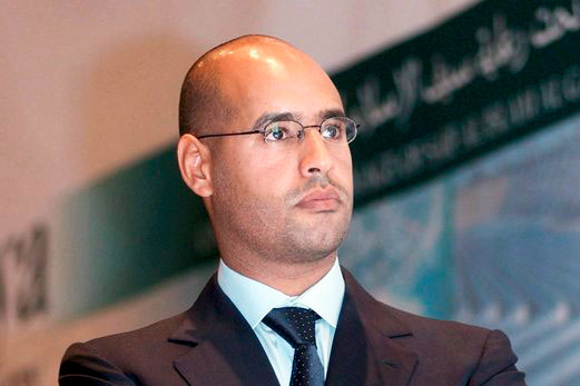 Libyan militia frees Gaddafi's son from jail