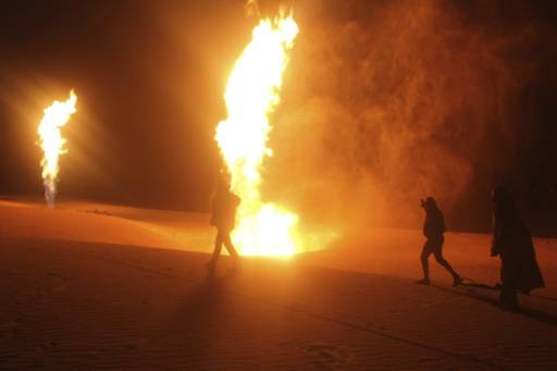 Oil pump on hold due to fire in Syria