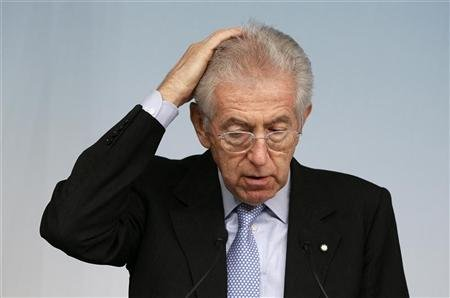 Italian PM Monti says will not run for election