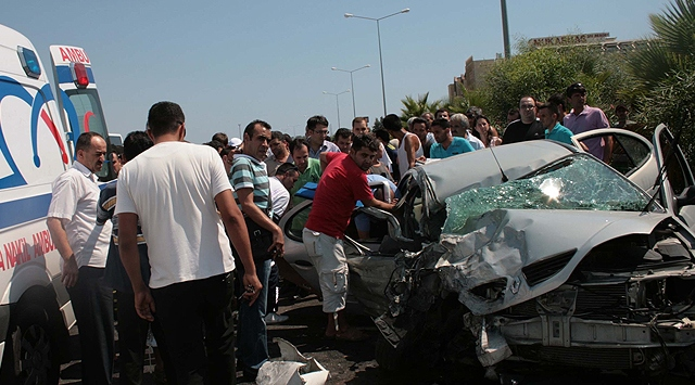 61 killed, 311 injured in weekend traffic accidents