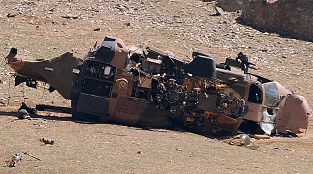 US: Taliban behind deadly helicopter crash