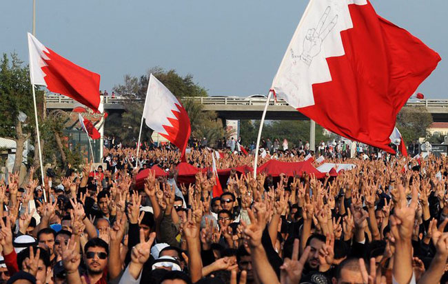 Bahrain crown prince meets opposition