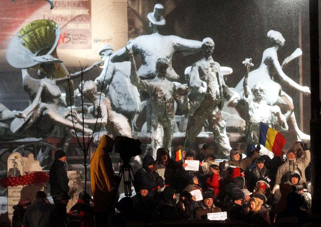 40,000 Romanians protest against amnesty bill