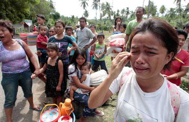 Philippines campaign to end violence against women