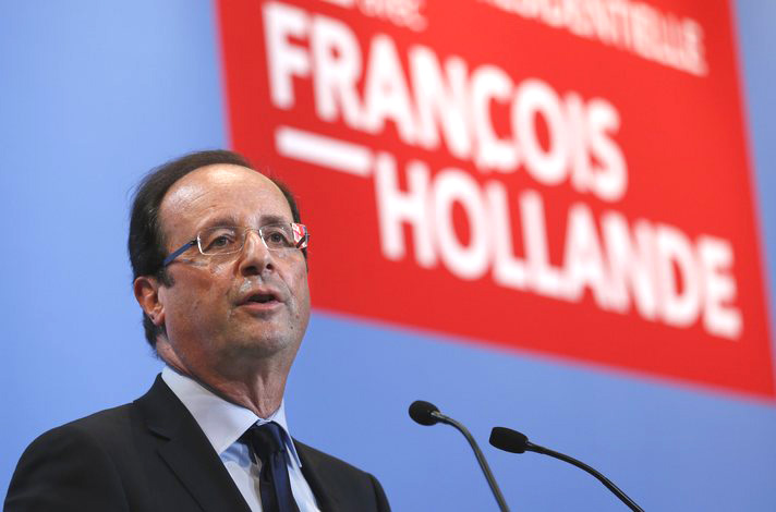 Hollande says chemical weapons likely used in Syria