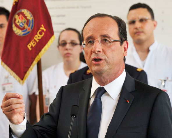 French President condemns mosque arson