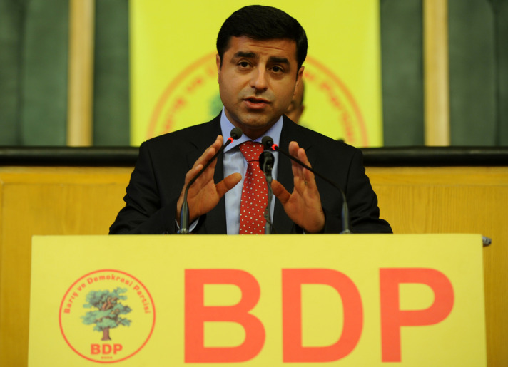 Demirtas re-elected as chairman of BDP