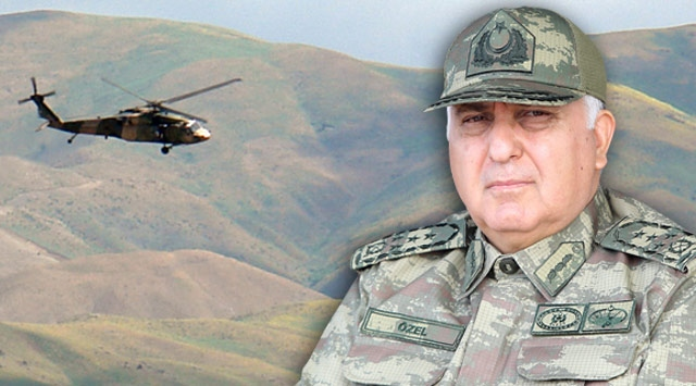 Turkish army chief says military after key PKK leaders