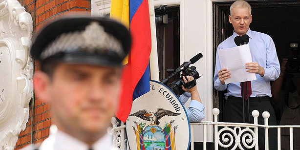 Assange's bail guarantors ordered to pay out