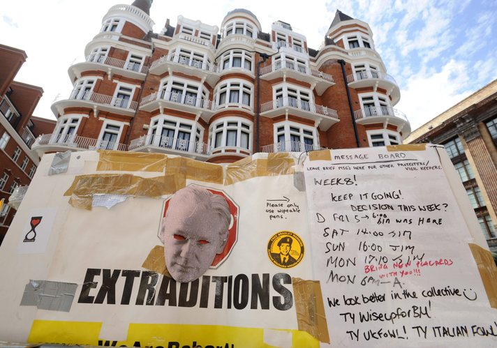 WikiLeaks' Assange may stay in Ecuador embassy for up to a year
