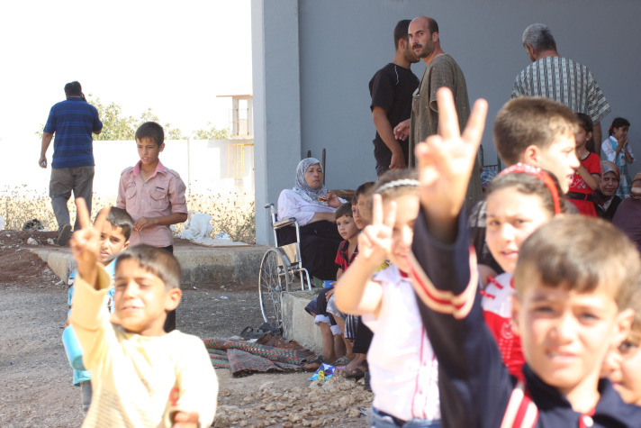 Number of Syrians in Turkey over 93,000