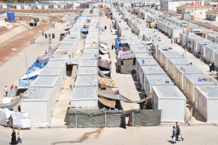 Number of Syrian refugees in Turkish camps exceeds 100,000