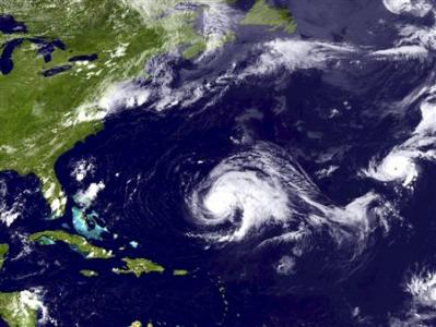 Tropical storm Norman forms off Mexico's Pacific coast