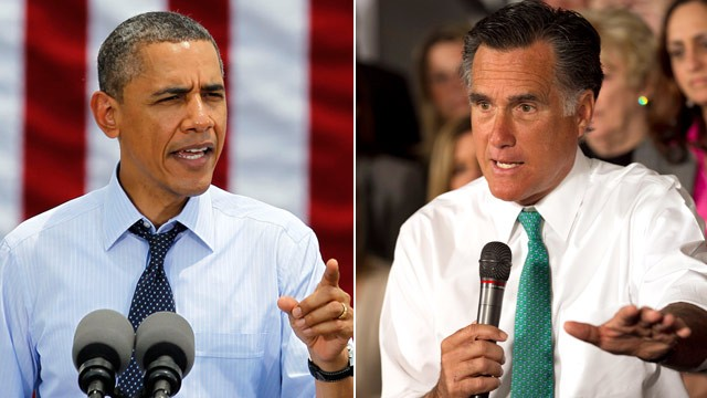 Obama and Romney will appear in a live debate