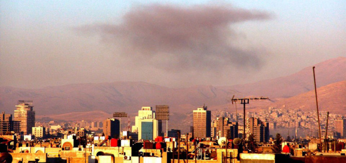 Syrian fighters bomb army command in Damascus