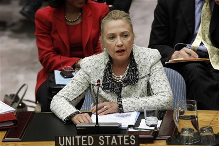 Clinton says U.S. to ease Myanmar import ban