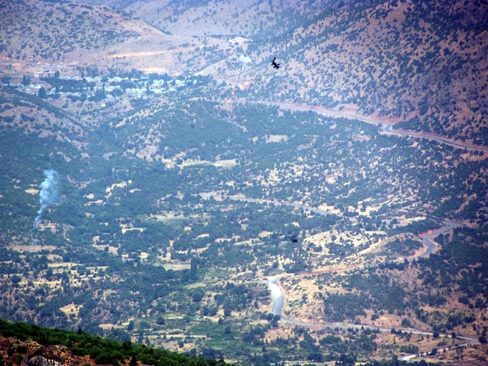 Two Turkish troops killed in PKK clashes