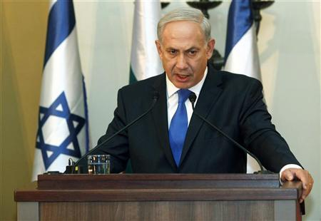 Use of chemical weapons extremely concerning: Israeli PM