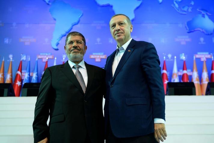 Egypt's Morsi may ask for Turkey support for 'Arab intervention' in Syria