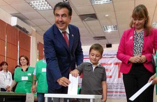 Georgia's president admits his ruling party lost poll