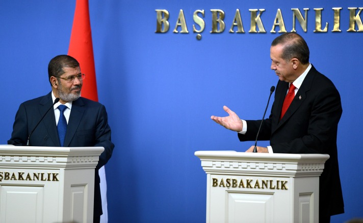 Morsi says Turkey, Egypt 'in complete agreement' over Syria crisis