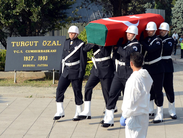 Late Turkish President's body exhumed for probe