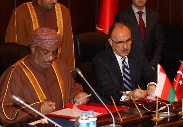 Turkey, Oman sign MoU to deepen relations