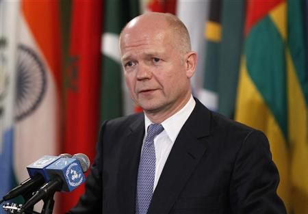 Iran can join Syria peace talks: Hague