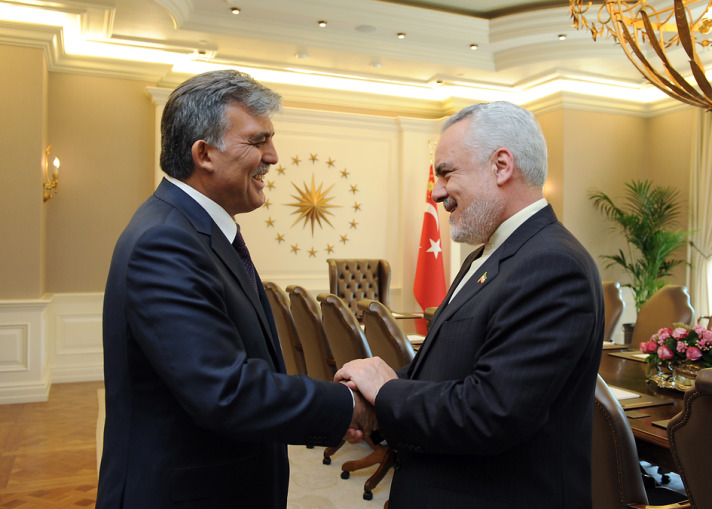 Turkish President hopes Iran relations will contribute to regional peace