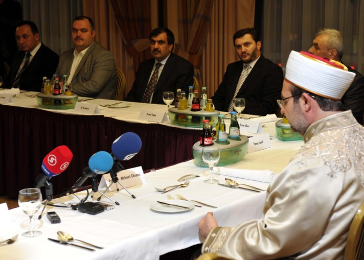 Turkey's top imam says ready to assist Germany on religious matters