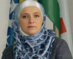 First headscarved mayor of Europe