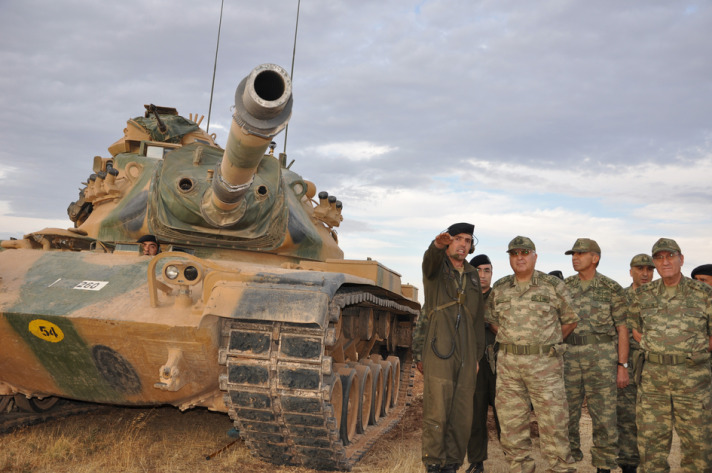 Turkey's military chief warns Syria over repeated shelling