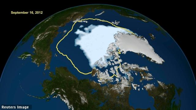 Antarctic ice map may hold clues to global warming