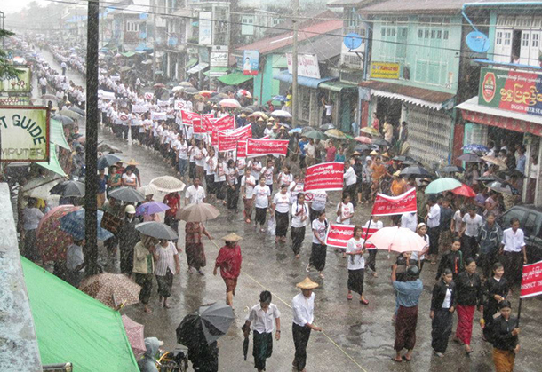 Buddhists protest OIC aid for Arakan Muslims