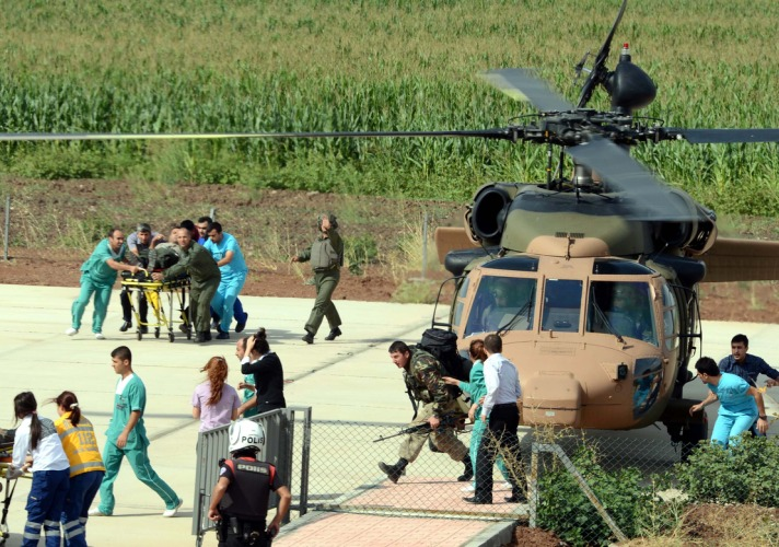 Turkish military plane crashes, one dead