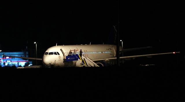 Plane departs for Syria after forced to land in Ankara