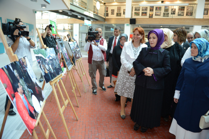 Turkish PM's wife in international Arakan conference in Istanbul