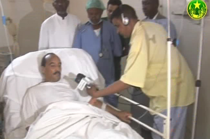 Mauritania leader flown abroad after shooting