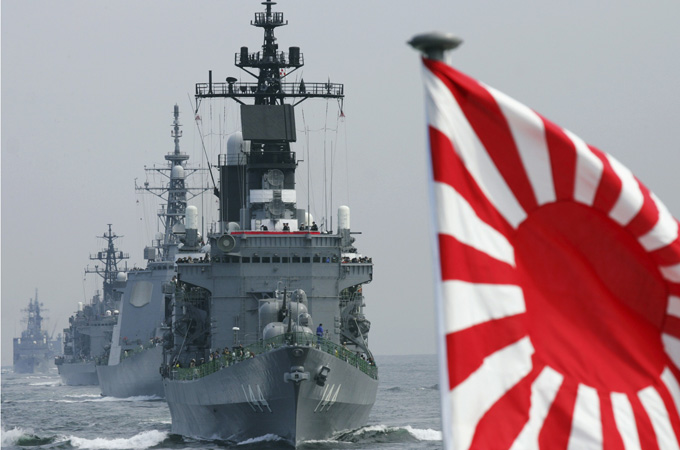 Japan to renew army again after WWII