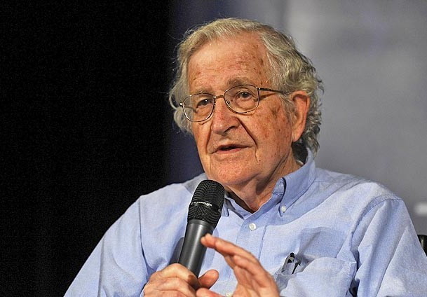 Chomsky urges US to adhere to its laws for Palestine