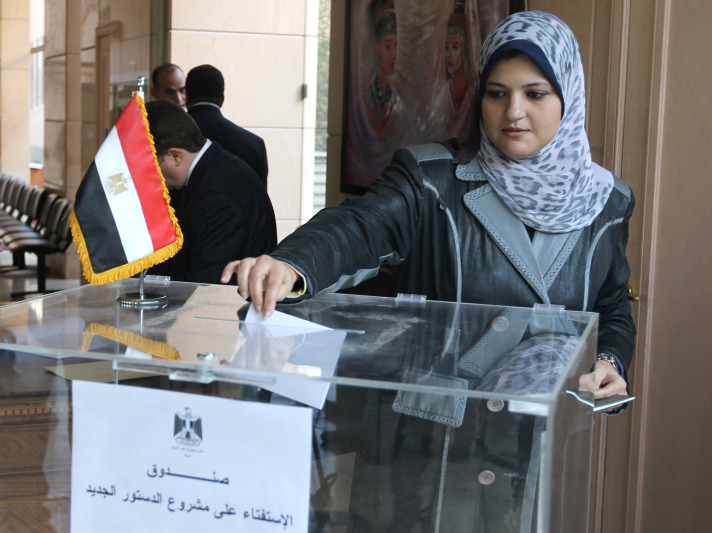 55,000 Egyptian expats vote in presidential poll
