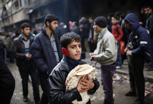 U.N. has to cut Syria food rations for lack of donor funds