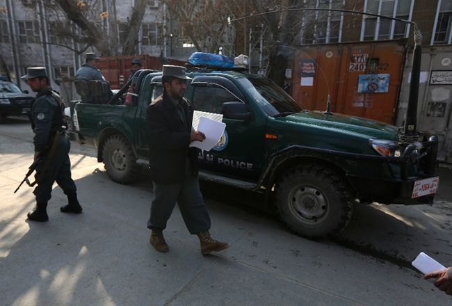 12 police officers abducted in Afghanistan
