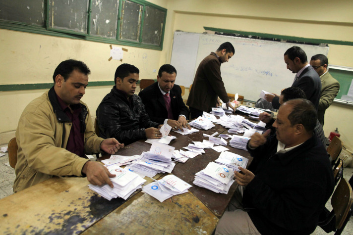 Egypt referendum in numbers