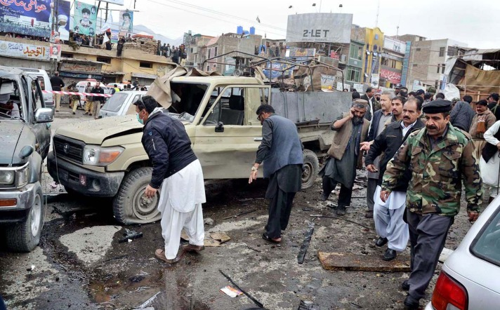 Six killed in suicide attack in Pakistan