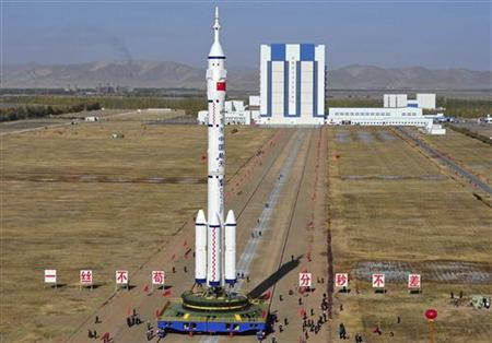 China to launch manned spacecraft Monday