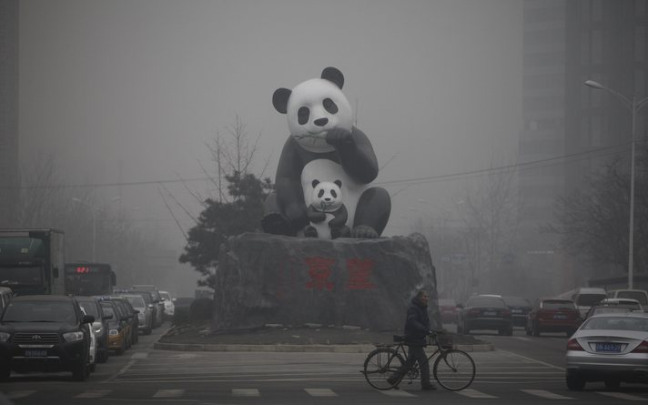 Orange alert issued in China's north for heavy smog