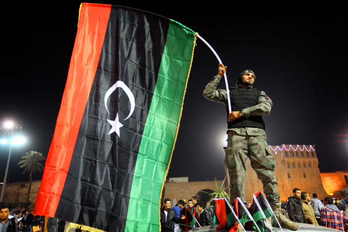 Libyan protesters call for disbanding of militias