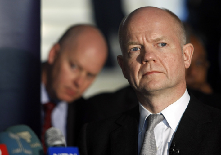 Hague: Assad behind chemical massacre in Syria